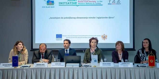 Veća odgovornost svih uključenih u obrazovanje romske i egipćanske djece